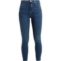 Topshop JAMIE NEW Jeans Skinny Fit bluegreen. Niebieskie jeansy damskie marki Topshop. Za 229,00 zł.