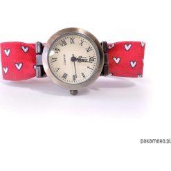 Zegarki damskie: ZEGAREK damski | Bransoletka w serduszka