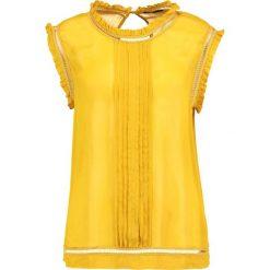 Bluzki asymetryczne: Sisley Bluzka marigold