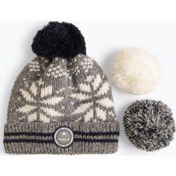 Cabaia Bonnets - Czapka damska – Perroquet, szary. Szare czapki damskie Cabaia Bonnets. Za 149,95 zł.