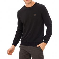 Sweter w kolorze czarnym. Czarne swetry klasyczne męskie GALVANNI, m, z okrągłym kołnierzem. W wyprzedaży za 229,95 zł.