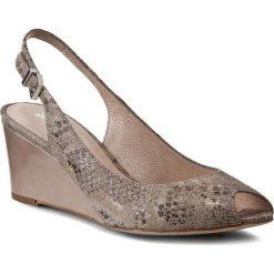 Sandały damskie: Sandały GINO ROSSI - Aurelia DNG372-Q36-JF00-1400-0 Beżowy 12