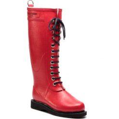 Kalosze ILSE JACOBSEN - RUB1 Deep Red 303. Brązowe buty zimowe damskie marki Alma en Pena, z materiału, na obcasie. Za 649,00 zł.