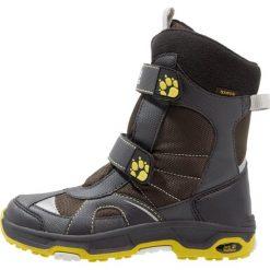 Jack Wolfskin POLAR BEAR TEXAPORE Śniegowce pinewood. Szare buty zimowe damskie marki Jack Wolfskin, z materiału. W wyprzedaży za 213,85 zł.