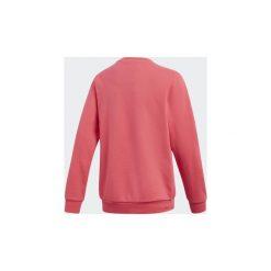 Bluzy Dziecko adidas  Bluza z zaokrąglonym dekoltem Trefoil. Czerwone bluzy dziewczęce rozpinane Adidas. Za 125,30 zł.