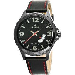 Zegarki męskie: Zegarek Gino Rossi męski Derter czarny (10273A-1A3)