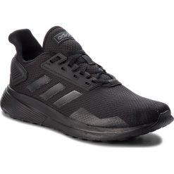 Buty adidas - Duramo 9 B96578 Cblack/Cblack/Cblack. Czarne buty do biegania męskie Adidas, z materiału. W wyprzedaży za 189,00 zł.