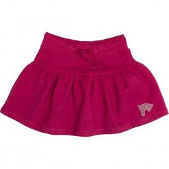 """Spódnica """"Horses"""" w kolorze jagodowym. Czerwone spódniczki dziewczęce marki Salt & Pepper, midi. W wyprzedaży za 42,95 zł."""