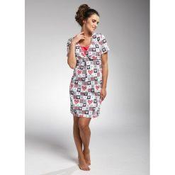Koszula nocna damska 693/180 All you need 2 wielokolorowa r. M. Szare bielizna ciążowa Cornette, moda ciążowa. Za 65,08 zł.