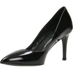 Czółenka SAVONA. Czarne buty ślubne damskie Gino Rossi, z lakierowanej skóry, na wysokim obcasie, na szpilce. Za 199,90 zł.