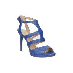 Sandały Bruno Premi  SANDAŁY  F3301P. Niebieskie sandały trekkingowe damskie marki Bruno Premi, z materiału. Za 249,99 zł.
