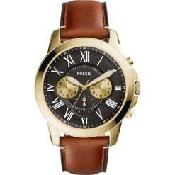 Biżuteria i zegarki: Fossil GRANT Zegarek chronograficzny braun
