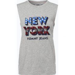 Topy sportowe damskie: Tommy Jeans - Top damski, szary