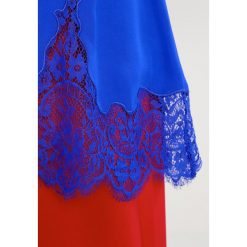 Bluzki asymetryczne: City Chic CLIMBING Bluzka ultra blue