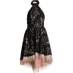 Forever Unique Sukienka koktajlowa black/nude. Czarne sukienki koktajlowe Forever Unique, z materiału. Za 559,00 zł.