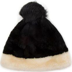 Czapka UGG - W Clr Blocked Sheepskin Beanie 17384  M BCKM. Czarne czapki zimowe damskie marki INOVIK, z elastanu. Za 639,00 zł.