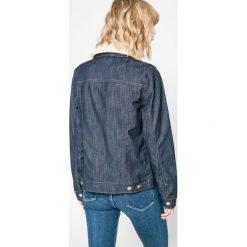 Wrangler - Kurtka. Szare kurtki damskie jeansowe Wrangler, m. W wyprzedaży za 269,90 zł.