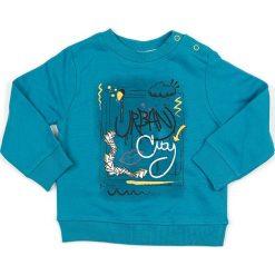 Bluza w kolorze turkusowym. Niebieskie bluzy chłopięce marki Street Monkey, z bawełny. W wyprzedaży za 49,95 zł.