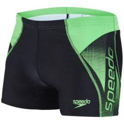 Speedo Spodenki Kapielowe Logo Panel Aquashort. Zielone spodenki sportowe męskie marki TRIBORD, z materiału, sportowe. W wyprzedaży za 119,00 zł.