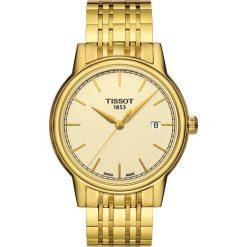 PROMOCJA ZEGAREK TISSOT T-CLASSIC T085.410.33.021.00. Żółte zegarki męskie TISSOT, ze stali. W wyprzedaży za 1390,40 zł.