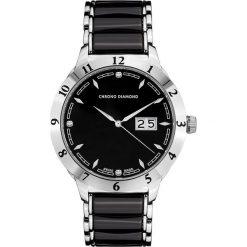 """Zegarki męskie: Zegarek kwarcowy """"Thyrso"""" w kolorze czarno-srebrnym"""
