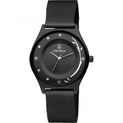 Zegarek kwarcowy w kolorze czarnym. Czarne, analogowe zegarki damskie Esprit Watches, metalowe. W wyprzedaży za 136,95 zł.