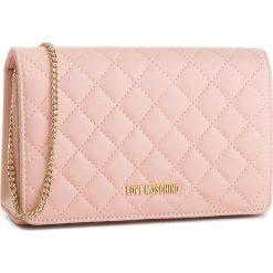 Torebka LOVE MOSCHINO - JC4095PP16LO0600  Rosa. Czerwone torebki klasyczne damskie marki Love Moschino, ze skóry ekologicznej. W wyprzedaży za 339,00 zł.
