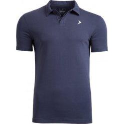 Koszulka polo męska TSM610A - ciemny granatowy - Outhorn. Niebieskie koszulki polo Outhorn, na lato, m, z bawełny. W wyprzedaży za 39,99 zł.