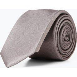 Olymp Level Five - Krawat jedwabny męski, szary. Szare krawaty męskie OLYMP Level Five, z jedwabiu. Za 149,95 zł.