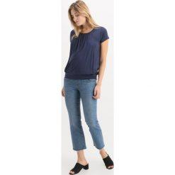 T-shirty damskie: JoJo Maman Bébé PLEATED Tshirt z nadrukiem mid night blue