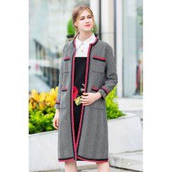 Płaszcze damskie: Płaszcz w kolorze czarno-białym