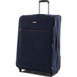 Walizki: Duża Materiałowa Walizka PUCCINI - EM 50405 A 7 Blue
