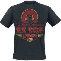 ZZ Top Lowdown Since 1969 T-Shirt czarny. Czarne t-shirty męskie z nadrukiem ZZ Top, s, z okrągłym kołnierzem. Za 74,90 zł.