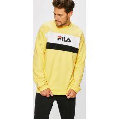 Fila - Bluza. Brązowe bluzy męskie rozpinane marki Fila, l, z nadrukiem, z bawełny, bez kaptura. W wyprzedaży za 279,90 zł.