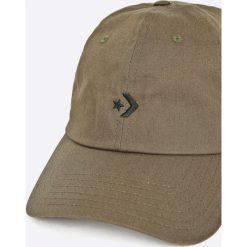 Converse - Czapka. Szare czapki z daszkiem męskie Converse, z bawełny. W wyprzedaży za 69,90 zł.