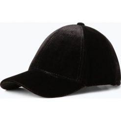 Czapki damskie: Marie Lund - Damska czapka z daszkiem, czarny