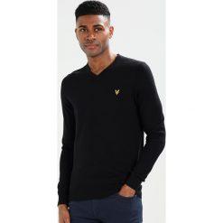 Swetry klasyczne męskie: Lyle & Scott Sweter black