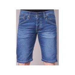 Szorty i Bermudy  Pepe jeans  TRACK SHORT. Niebieskie bermudy męskie Pepe Jeans, z jeansu. Za 216,30 zł.