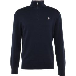 Polo Ralph Lauren Golf Sweter french navy. Niebieskie golfy męskie marki Polo Ralph Lauren Golf, m, z bawełny. W wyprzedaży za 471,20 zł.
