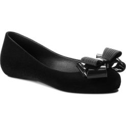 Baleriny damskie: Baleriny ZAXY - Pop Flocked II Fem 82542 Black 52610 BB285032 02064