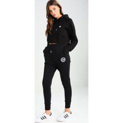 Bluzy rozpinane damskie: Hype Bluza z kapturem black