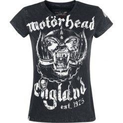 Motörhead EMP Signature Collection Koszulka damska czarny. Czarne bluzki asymetryczne Motörhead, s, z nadrukiem, rockowe, z dekoltem na plecach. Za 121,90 zł.