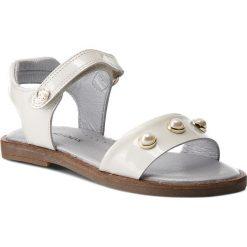 Sandały dziewczęce: Sandały STUART WEITZMAN – B182600 M A-White (Charol)
