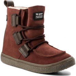 Buty zimowe chłopięce: Śniegowce MRUGAŁA – Nel 7390-43 Blush