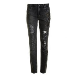 Pepe Jeans Jeansy Damskie Heidi Rose 27/32 Czarny. Czarne jeansy damskie marki Pepe Jeans. W wyprzedaży za 289,00 zł.