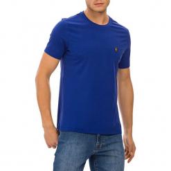 T-shirt w kolorze niebieskim. Niebieskie t-shirty męskie GALVANNI, m, z okrągłym kołnierzem. W wyprzedaży za 84,95 zł.