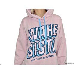 Bluza Wake Sista Hoodie Pink. Różowe bluzy dziewczęce rozpinane Pakamera. Za 269,00 zł.