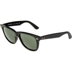 RayBan ORIGINAL WAYFARER Okulary przeciwsłoneczne schwarz. Szare okulary przeciwsłoneczne damskie lenonki marki Ray-Ban, z materiału. Za 619,00 zł.