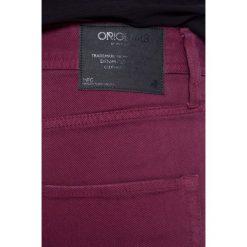Jack & Jones - Spodnie. Czarne rurki męskie marki Jack & Jones, l, z bawełny, z klasycznym kołnierzykiem, z długim rękawem. W wyprzedaży za 99,90 zł.