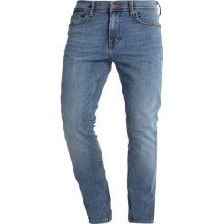 Mustang VEGAS Jeansy Slim Fit denim blue. Czarne jeansy męskie marki Mustang, l, z bawełny, z kapturem. Za 269,00 zł.
